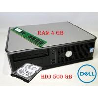 Системный Блок DELL Optiplex 380 (DT) HDD 500 GB/ RAM 4 GB(DDR 3)/ CPU DC 2.7