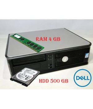 Системный Блок DELL Optiplex 380 (DT) HDD 500 GB/ RAM 4 GB(DDR 3)/ CPU DC 2.7