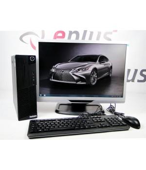 ПК LENOVO M70E SFF 160 GB 4 GB (DDR 3) Intel GMA 4500 (1GB) Dual Core 2.8 Ghz + Philips 220P2 Б/у