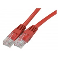 Патчкорд UTP Cat.6 LAN сетевой кабель 1,5 м красный