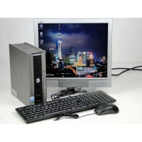 ПК DELL Optiplex 745 USFF 80 GB 2 GB(DDR 2) PD 3.4 Ghz+Philips 170B6+Подарки