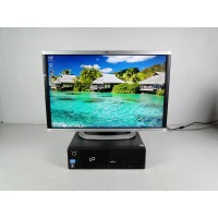 ПК Системный Блок FS E910 SFF 250 GB 4 GB (DDR 3) PG 2.8 Ghz+HP LA2405X+Подарки