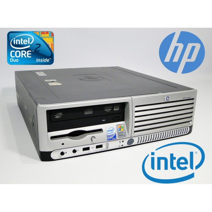 Системный Блок HP Compaq dc7700 SFF 80 GB 2 GB (DDR 2) C2Duo 1.8 Ghz б/у