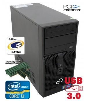 Системный Блок FS Esprimo P 510 MT 500 GB 4 GB (DDR 3) USB 3.0 Core i3-3220 3.3 Ghz Б/у игровой