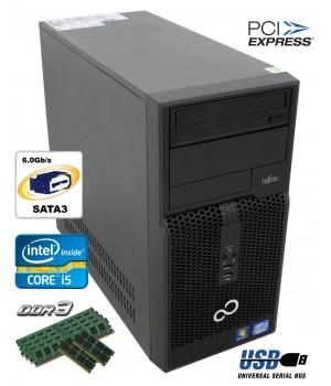 Системный Блок Fujitsu-Siemens P500 (MT) HDD 500 GB RAM 4 GB (DDR 3) CPU Core i5 2400 3.1 Ghz Б/у