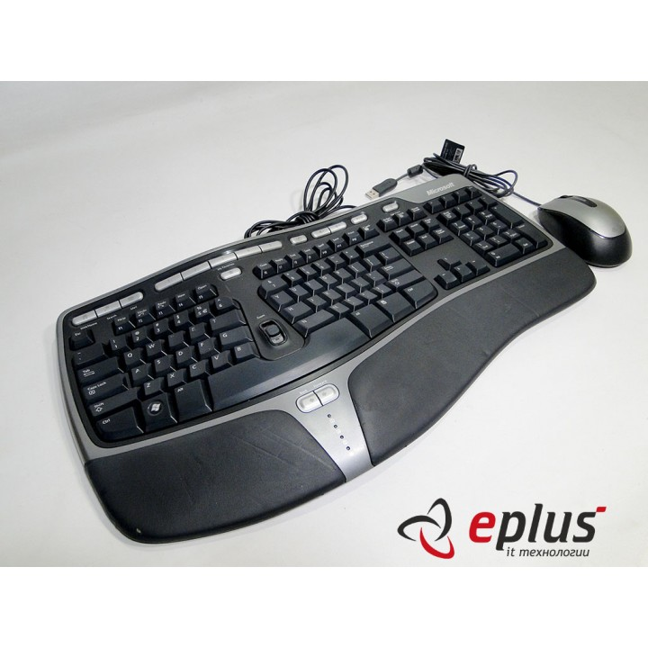 Комплект Клавиатура Microsoft Natural Ergonomic Keyboard 4000 USB (B2M-00020) & Mouse