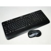 Wireless Combo MK520 Полноразмерный беспроводной комплект: клавиатура и мышь Logitech Б/у
