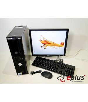 ПК DELL Optiplex 745 (DT) HDD 80 GB RAM 2 GB CPU C2D 2.66 + Dell 1704 Б/у