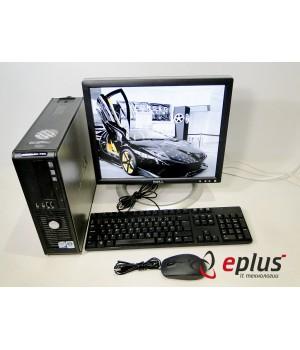 ПК DELL Optiplex 760 (SFF) HDD 160 GB/ RAM 2 GB/ CPU C2D 3.0 + Dell 1704  Б/у