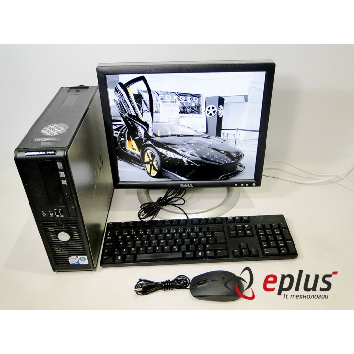ПК DELL Optiplex 760 (SFF) HDD 160 GB/ RAM 2 GB/ CPU C2D 3 0 + Dell 1704 Б/у