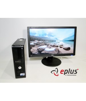 Пк Dell Optiplex 760 C2D 3.0/ RAM 2 ГБ/ HDD 160 ГБ/+LG W2442PE