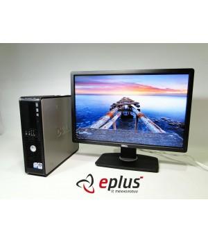 Пк Dell Optiplex 760 C2D 3.0/ RAM 2 ГБ/ HDD 160 ГБ/ + Dell P2213 Black