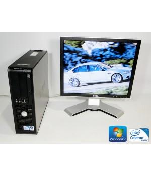 ПК Dell Optiplex 760 Celeron 450 2.2/ RAM 2 ГБ/ HDD 160 ГБ/ + Dell 1708