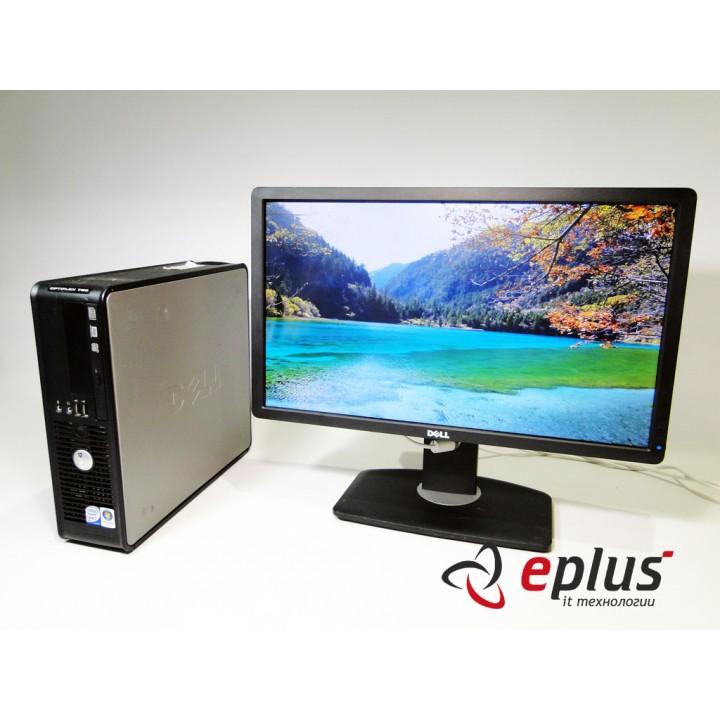 Пк Dell Optiplex 760 C2D 3 0/ RAM 2 ГБ/ HDD 160 ГБ/+ Dell P2212H TN Б/у
