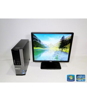ПК Dell Optiplex 9010 Corei5 3.4/ RAM DDR3 4 ГБ/ HDD 160 ГБ/ + Dell E1913 Б/у