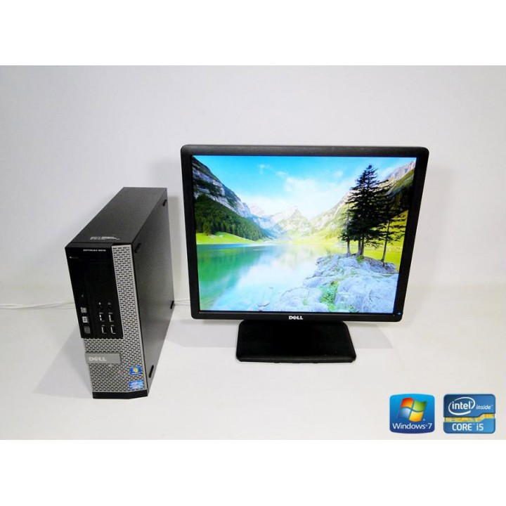 ПК Dell Optiplex 9010 Corei5 3.4/ RAM DDR3 4 ГБ/ HDD 160 ГБ/ + Dell E1913 Б/у