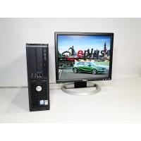 ПК Dell Optiplex GX620 Pentium 4 3.0/ RAM 1 ГБ/ HDD 40 ГБ/ + Dell 1704 Б/у