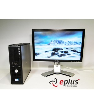 Пк Dell Optiplex 760 C2D 3.0/ RAM 2 ГБ/ HDD 160 ГБ/ + Dell 2007WFP IPS матрица Б/у