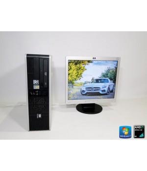 ПК HP dc5750SFF AMD Athlon X2 2.0/ RAM 1 ГБ/ HDD 80 + HP 1706 Б/у
