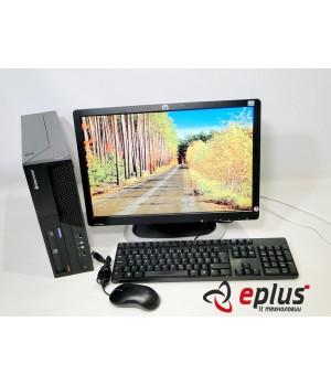Пк LENOVO M58P (SFF) HDD 250 GB/ RAM 4096 GB (DDR3)/ CPU C2D 3.0 + HP L1908W Б/у