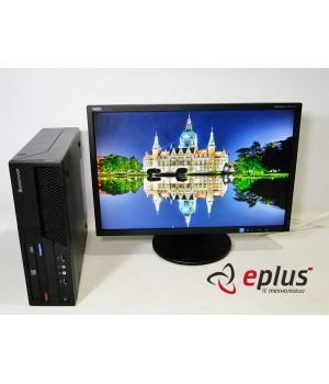Пк LENOVO M58P (SFF) HDD 250 GB/ RAM 4096 GB (DDR3)/ CPU C2D 3.0 + NEC EA223WM Б/у