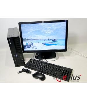Пк LENOVO M58P (SFF) HDD 250 GB/ RAM 4096 GB (DDR3)/ CPU C2D 3.0 + HP L1945WV Б/у