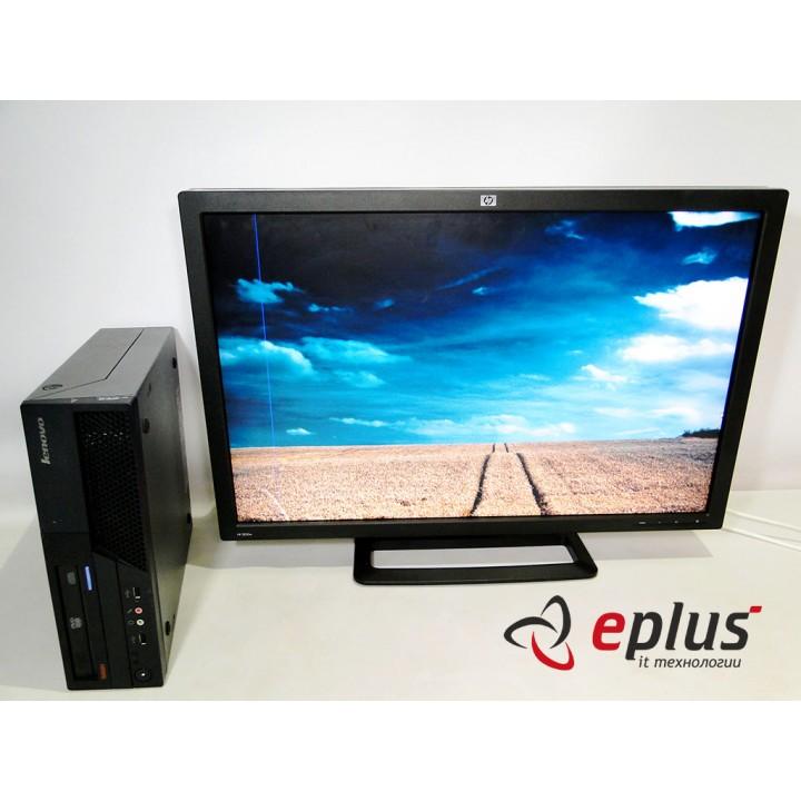 Пк LENOVO ThinkCentre M58 (SFF) HDD 160 GB/ RAM 4 GB/ CPU DC 2.8+HP ZR30W