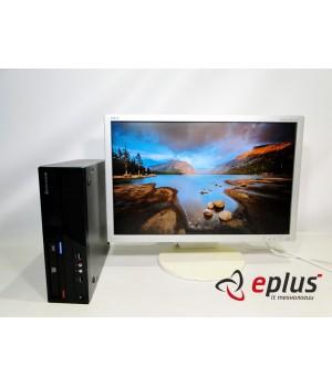 Пк LENOVO ThinkCentre M58 (SFF) HDD 160 GB/ RAM 4 GB/ CPU DC 2.8+NEC EA241WM TFT TN white Б/у