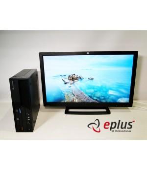 Пк LENOVO ThinkCentre M58 (SFF) HDD 160 GB/ RAM 4 GB/ CPU DC 2.8+HP ZR2740W IPS