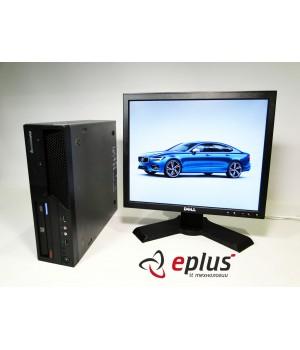 Пк  LENOVO ThinkCentre M58 (SFF) HDD 160 GB/ RAM  4 GB/ CPU  DC 2.8 + dell p170 Б/у