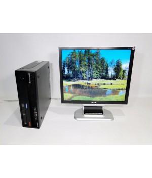 ПК Lenovo ThinkCentre M57 C2D 2.33/2048/160/ + Acer AL1951 Б/у