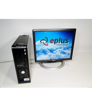ПК Dell Optiplex 755 Celeron 440 2.0/ RAM 1 ГБ/ HDD 80 ГБ/ + Dell 1704