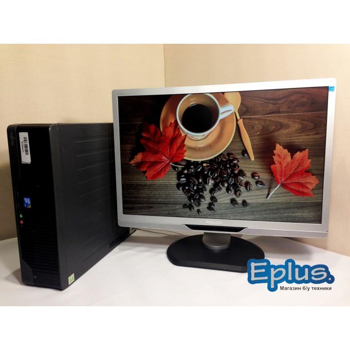 ПК FS E5730 Core2Duo 3.16/2048/160/  PHILIPS 220P2 Б/у