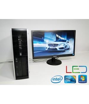 ПК HP 8000 Elite C2D 3.0/DDR3 2048/160/ + Philips V-line 203V5