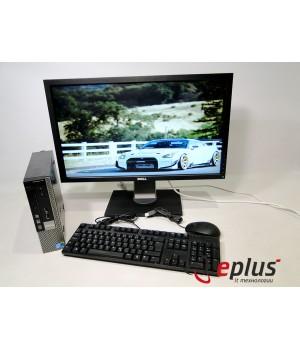 ПК DELL Optiplex 780 (USFF) HDD 160 GB/ RAM 4 GB/ CPU C2D 3.0 + DELL G2410T Б/у
