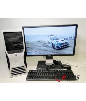 ПК DELL T3400 (MT) HDD 250 GB/ RAM 2 GB(DDR 2)/ CPU C2D 2.33/ + DELL P2412HB Б/у