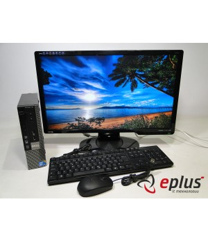 ПК DELL Optiplex 780 (USFF) HDD 160 GB/ RAM 4 GB/ CPU C2D 3.0/ + BENQ G2420HD Б/у