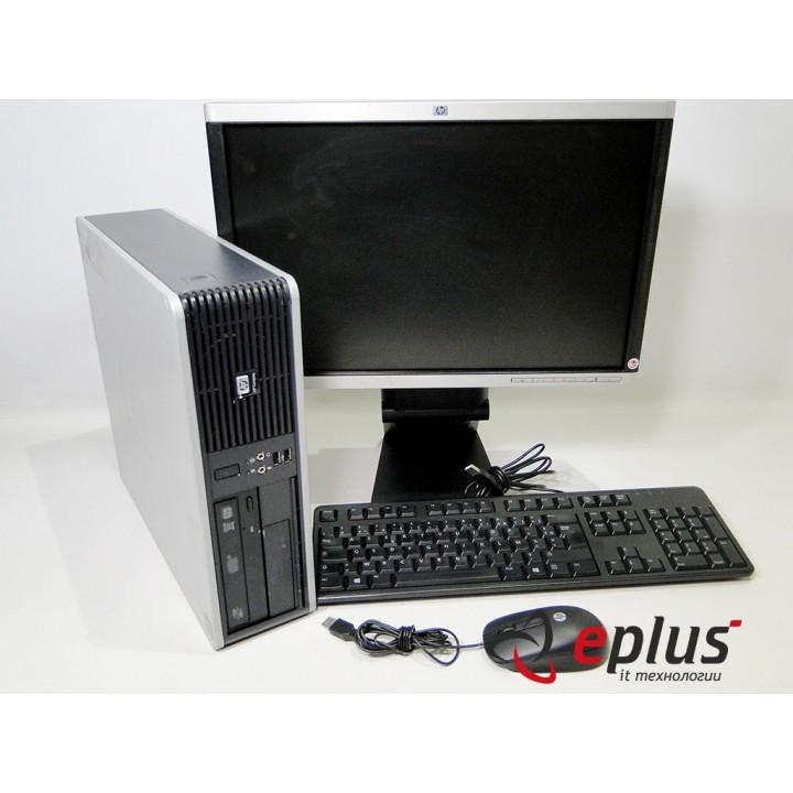 ПК HP DC 5850 (SFF) HDD 80 GB/ RAM 2 GB(DDR 2)/ CPU X2 2.7 + HP LA1905WG Б/у