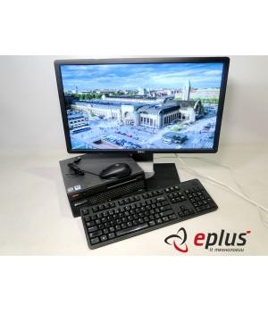 ПК LENOVO 6071 (USFF) HDD 160 GB/ RAM 2 GB(DDR 2)/ CPU C2D 2.4/ + DELL Professional P2412HB