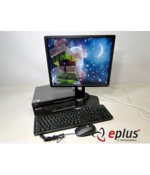 ПК LENOVO 6071 (USFF) HDD 160 GB/ RAM 2 GB(DDR 2)/ CPU C2D 2.4/ + Dell P1914Sf Б/у