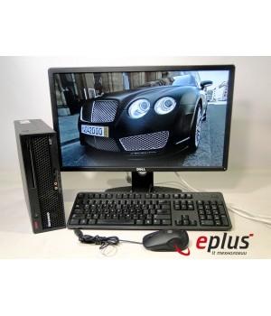 ПК LENOVO 6071 (USFF) HDD 160 GB/ RAM 2 GB(DDR 2)/ CPU C2D 2.4/ + Dell P2314H Б/у