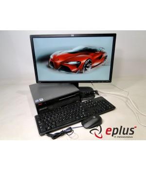 Пк LENOVO 6071 (USFF) HDD 160 GB/ RAM 2 GB(DDR 2)/ CPU C2D 2.4/ + HP ZR22w  Б/у