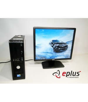 ПК Optiplex 780 SFF CPU C2D 3.0 RAM 2GB DDR3 HDD 160GB + Dell E1913Sf