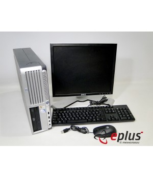 ПК HP Compaq dc7700 Intel C2D 2.4/2048/80/DVD Dell UltraSharp 1707/08 Б/у
