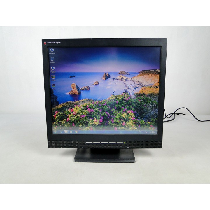 "Монитор 17"" DIAMOND DIGITAL DV171JB TN 4x3 Black сенсорный б/у"
