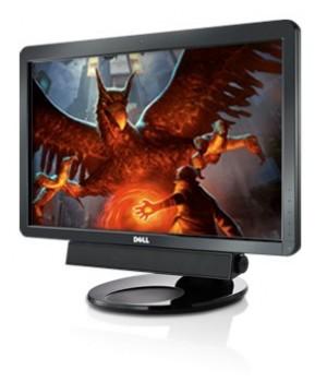 """Монитор 23"""" DELL SP2309W TN+film Widescreen Black б/у игровой монитор + Веб камера"""