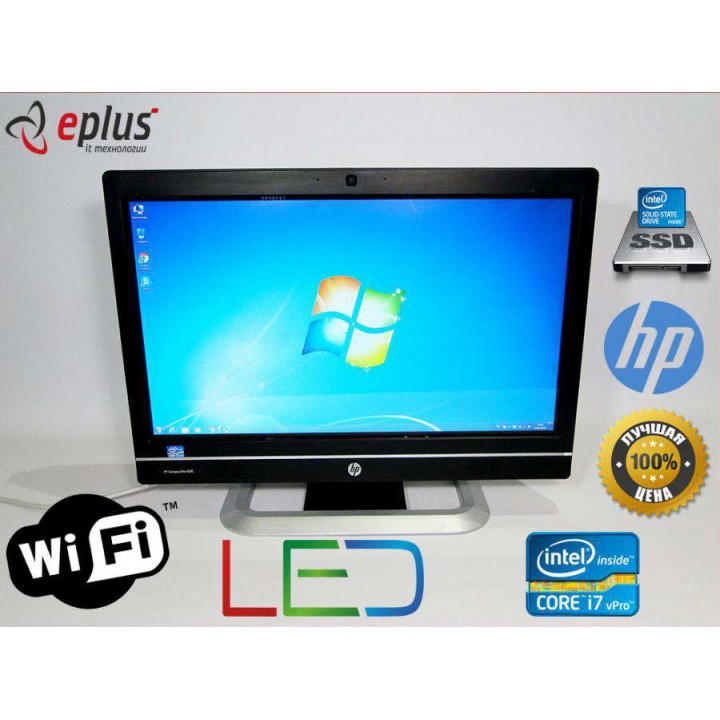 "Моноблок HP Compaq Elite 8300 AiO 23"" Core i7 3.4 Ghz 256 SSD 4 GB(DDR 3) (сенсорный экран) Б/у"
