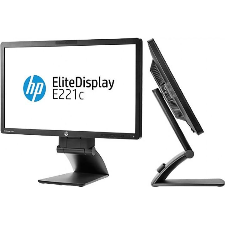 Монитор 22'' HP Elite Display E221C IPS Встроенная веб-камера Б/у (2-Клас)