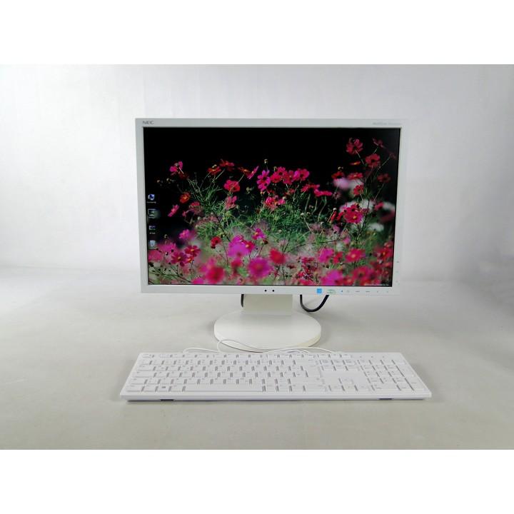 """Монитор 22"""" NEC EA223WM TN + film White + Клавиатура б/у"""