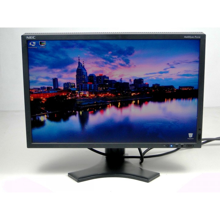 "Монитор 22"" NEC P221W S-PVA Widescreen Black"